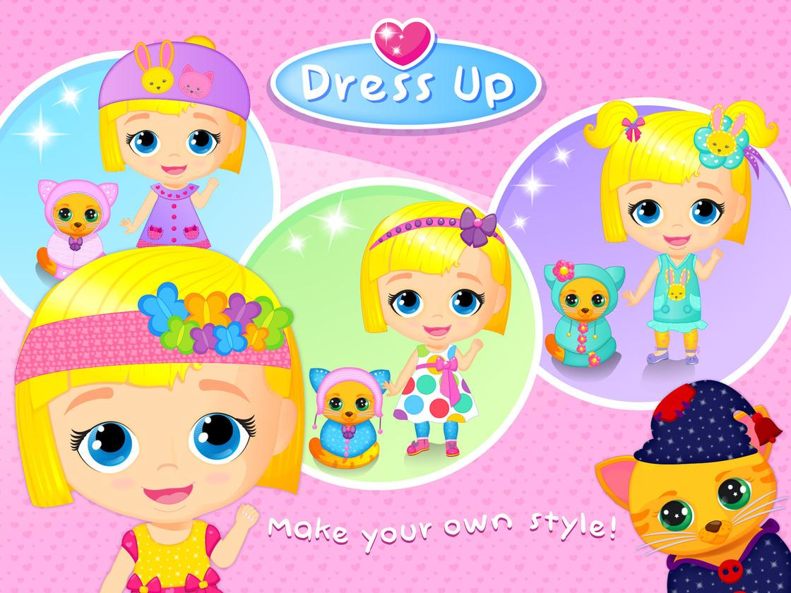 Lily amp kitty baby doll house game created with tutotoons